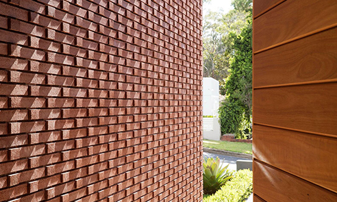Bricks are made from natural products PGH Bricks
